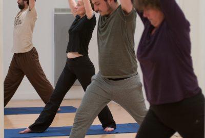 atelier de yoga avec Philippe Le Masson